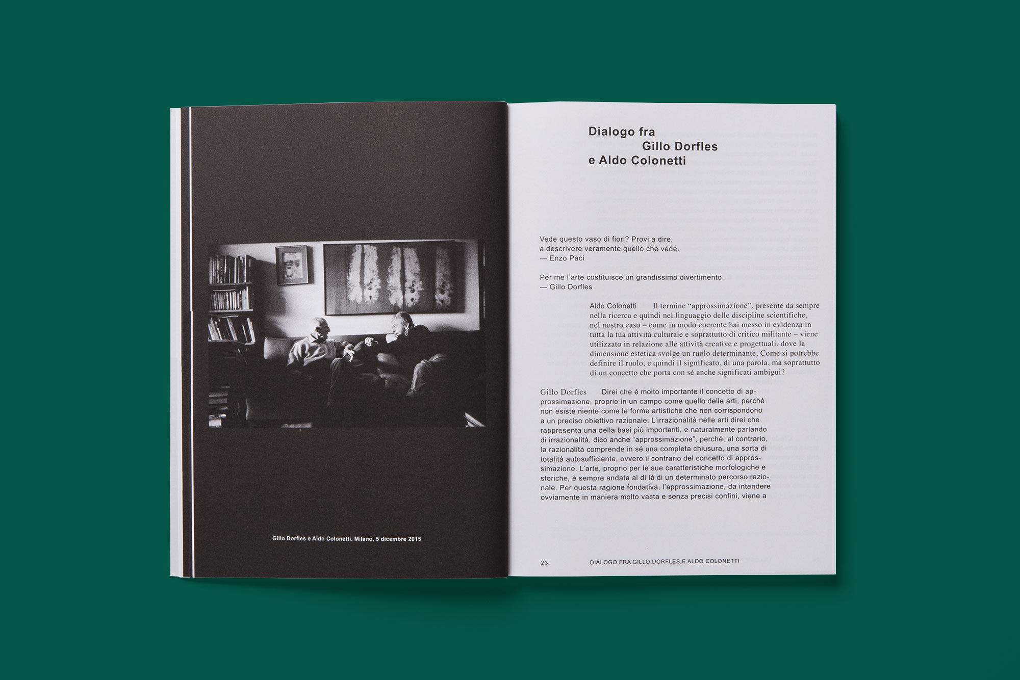 Giulia Dolci - Approssimazione — Catalogue