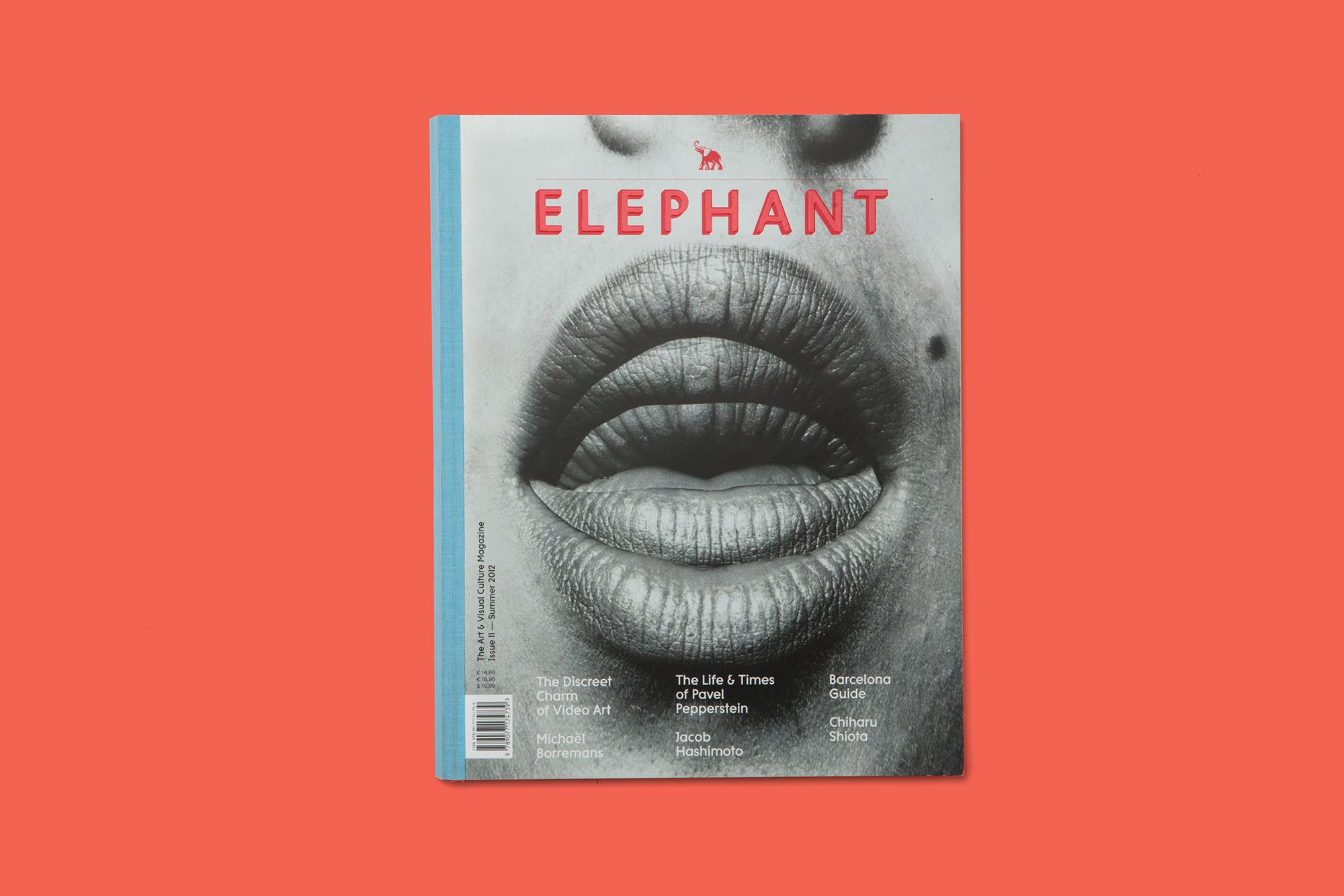 Giulia Dolci - Elephant Magazine — Cover