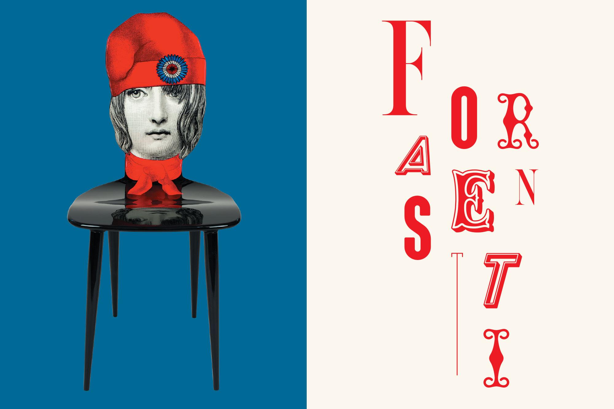 Giulia Dolci - Piero Fornasetti — Exhibition Identity