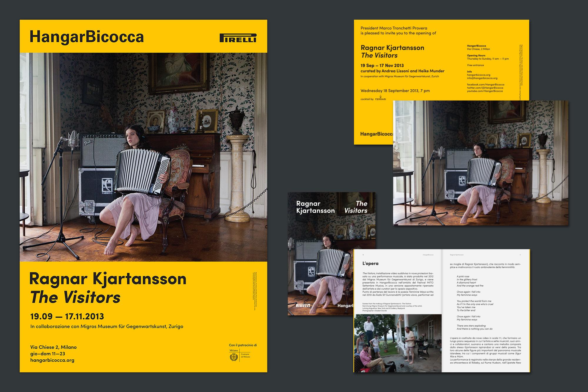 Giulia Dolci - HangarBicocca — Visual Identity